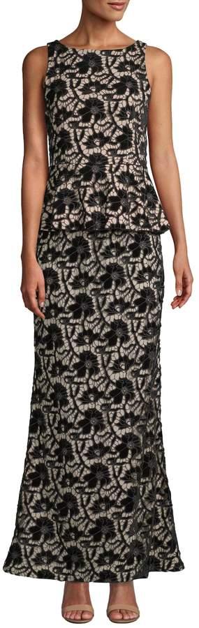 Alice + Olivia Women's Jae Peplum Gown