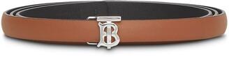 Burberry Reversible Monogram Plaque Belt