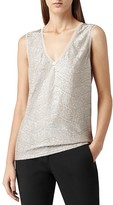 Reiss Vest - Ona Metallic