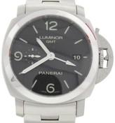 Panerai Luminor GMT PAM320 44mm Automatic Stainless Steel Mens Watch
