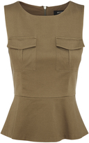 Oxford Prima Safari Top Khaki X