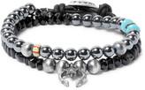 Peyote Bird Multi-Stone Sterling Silver Bracelet