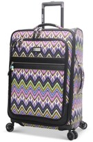 "Steve Madden CLOSEOUT! 60% OFF Patchwork 29"" Expandable Spinner Suitcase"