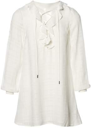 Tularosa White Viscose Dresses