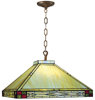 Dale Tiffany Lighting, Beige Filigree Pendant