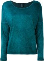 Avant Toi slit sides longsleeved T-shirt - women - Micromodal - S
