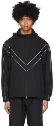 Minotaur Black Hooded Gym Jacket