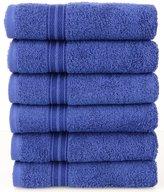 Lunasidus Bergamo Luxury Hotel / Spa Hand Towel 100 Percent Genuine Turkish Cotton, Set of 6
