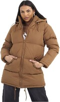 Thumbnail for your product : Brave Soul Ladies' Jacket CELLOLONGPKD Toffee UK 8