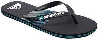 Quiksilver Molokai Art (Black/Blue/Black) Men's Sandals