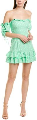 Finders Keepers Finderskeepers Wildflower Linen-Blend Mini Dress