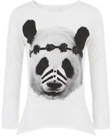 Munster White Panda Face Tee