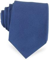 Forzieri Solid Woven Silk Tie