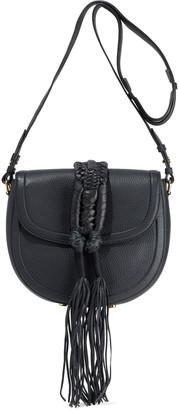 Altuzarra Ghianda Fringed Pebbled-leather Shoulder Bag