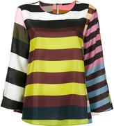 Odeeh multiple stripes blouse