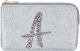 Accessorize Glitter A Alphabet Ziptop Coin Purse