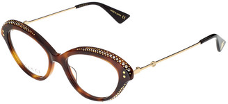 Gucci Women's Gg0215o-30001824002 51Mm Optical Frames