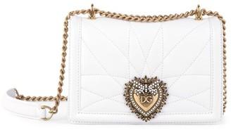 Dolce & Gabbana Mini Devotion Quilted Leather Shoulder Bag