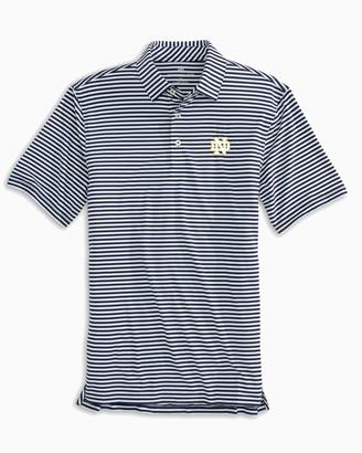 Southern Tide Notre Dame Fighting Irish Striped Polo Shirt