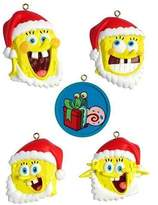 Nickelodeon Spongebob Squarepants American Greetings 5-Piece Christmas Ornament Set