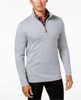 Tasso Elba Men's Supimaandreg; Cotton Quarter-Zip Sweater, Created for Macy's