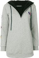 Rossignol zipped neck hoodie