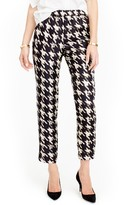 J.Crew Women's Forrester Wolfstooth Silk Pants
