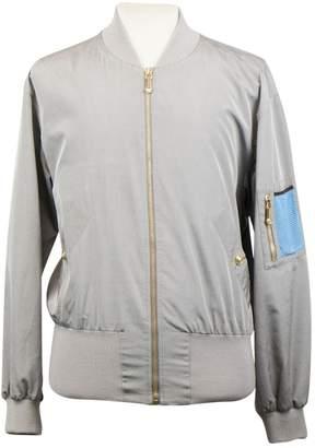 Versace Grey Silk Jackets