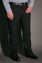 Yours Clothing BadRhino Black Bedford Cord Trousers