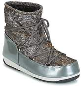 Moon Boot WE LOW LUREX Grey / Silver