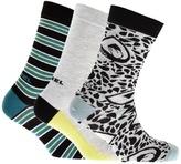 Diesel SKM RAY Three Pack Socks Grey
