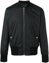 Versus lion patch bomber jacket - men - Nylon/Spandex/Elastane/Polyester - 46