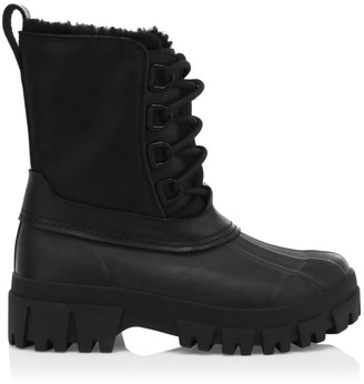 Rag & Bone RB Shearling-Lined Suede Winter Boots