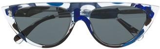 Alain Mikli Aviator-Frame Sunglasses