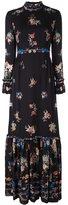 Vilshenko floral print longsleeved dress