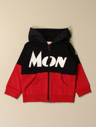 Moncler Sweatshirt With Hood And Zip