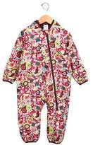 Patagonia Girls' Hooded Floral Snowsuit
