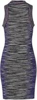 M Missoni Lurex Variegated Knit Sleeveless Dress