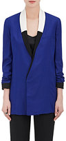 Haider Ackermann Women's Piqué Silk Double-Breasted Jacket