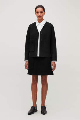 Cos BOILED WOOL CASUAL BLAZER