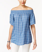 Style and Co Off-The-Shoulder Top, Only at Macy's