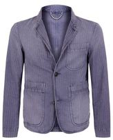 Burberry Striped Blazer Jacket