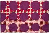 4 X 6' Multi-Dot Pink & Purple Rug