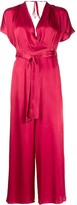 Semi-Couture Wrap Style Jumpsuit