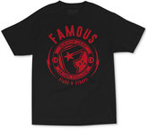 Famous Stars & Straps Men's Shocker Graphic-Print Logo T-Shirt