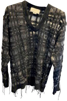 Esteban Cortazar Black Wool Knitwear