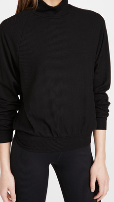 YEAR OF OURS Jane Mock Neck Top