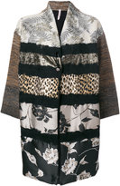 Antonio Marras contrast pattern coat