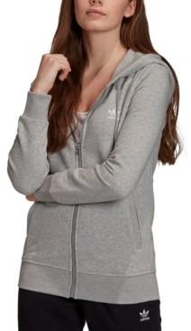 adidas Women's French Terry Logo Zip Hoodie