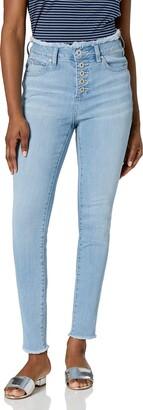 Jag Jeans Women's Petite Gwen Skinny w/Raw Edge W/B Jean